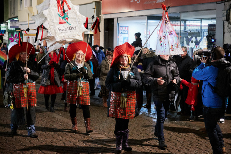 Burns Night lantern parade 2018