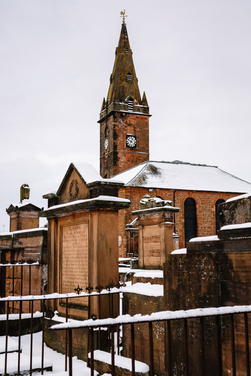 St Michaels Churchyard in Dumfries