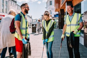 Community work is good for exchanging ideas and banter