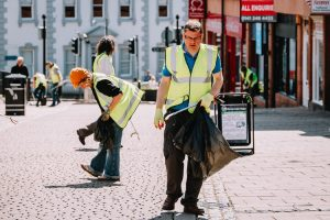 Changing the face of Dumfries Hiigh Street one step at a time