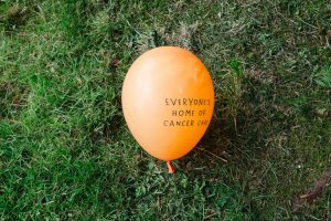 A balloon for Maggie's centres charity