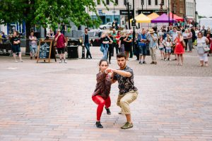 Highly sought after dance act for D&G Arts Festival