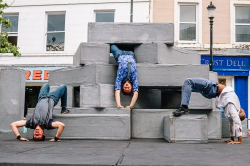 Motionhouse and NoFit State Circus bring their exciting collaborative project BLOCK to D&G Arts Festival