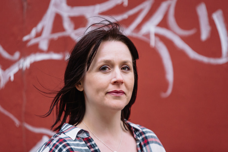 Urban female portrait