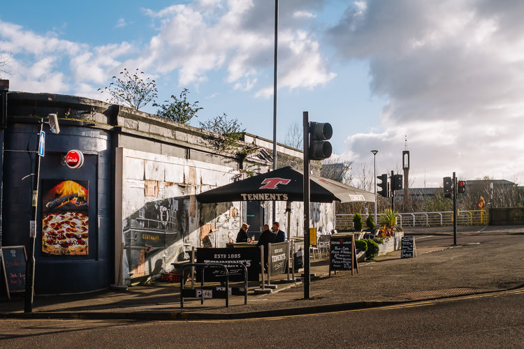 The Clutha Bar in Glasgow