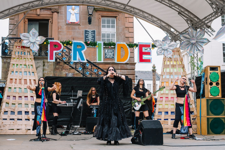 KROW perform for DG Pride
