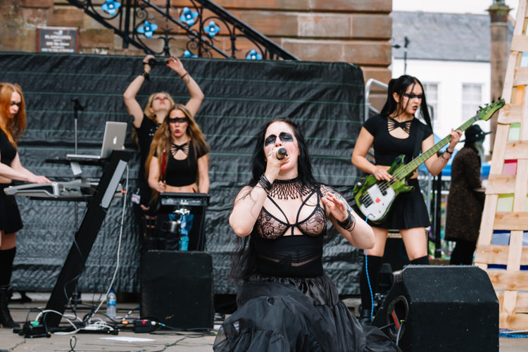 More of KROW, a radical feminist dark electronica band