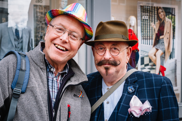 Guests from Carlisle Pride