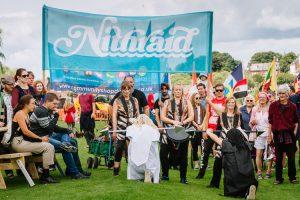 Maddjakallss' ritual on Mill Bank in Dumfries
