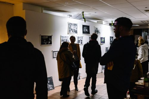 A small exhibition of photographs from the past years of DMC history