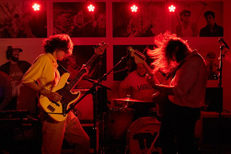 Energising indie rock from the Nickajackmen band from Falkirk