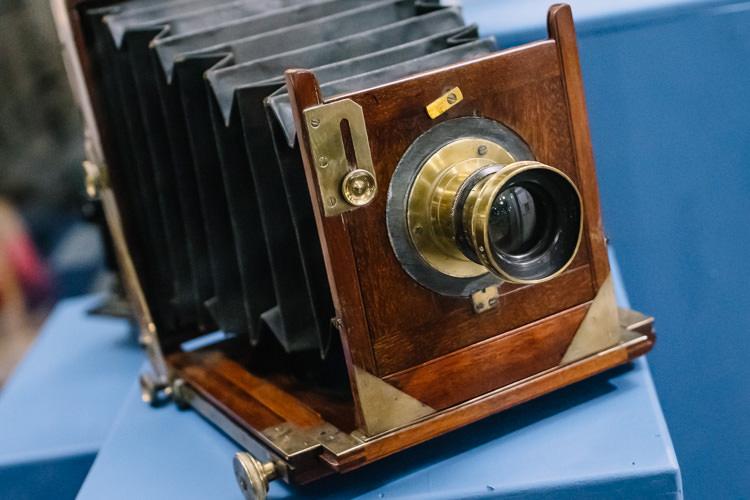 """WW1 """"official"""" photographer's camera"""