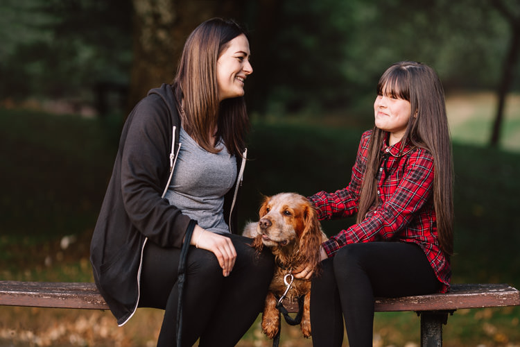 Autumn portraits with Kaileigh, Louise and Rio (Part 2)