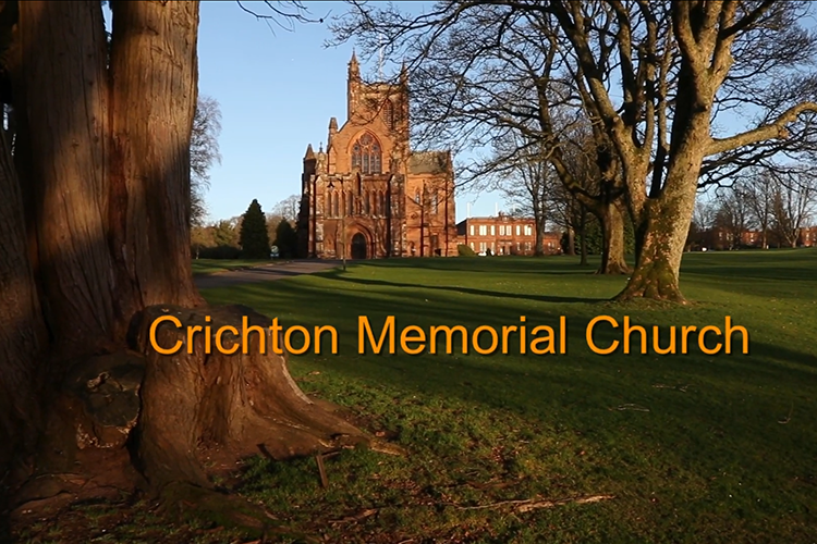 Crichton Memorial Church - screenshot from my video
