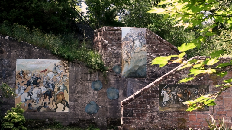 New public art installed in Sunken Garden at Castledykes