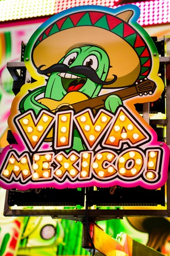 Viva Mexico ride - detail