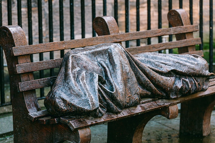 Glasgow Homeless Jesus after Storm Ciara