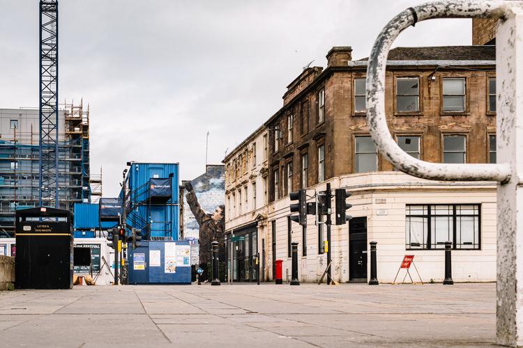 Empty Clyde Street
