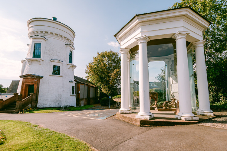 Camera Obscura and the Sinclair Memorial at Dumfries Museum