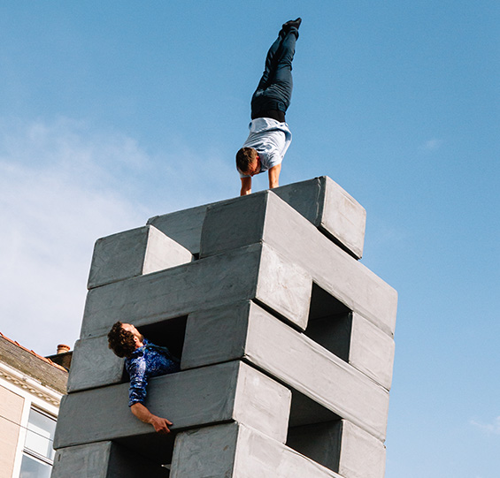 From BLOCK, a thrilling dance and aero-acrobatic circus fusion