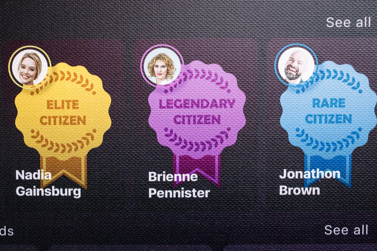 Exemplary citizens  to follow callout