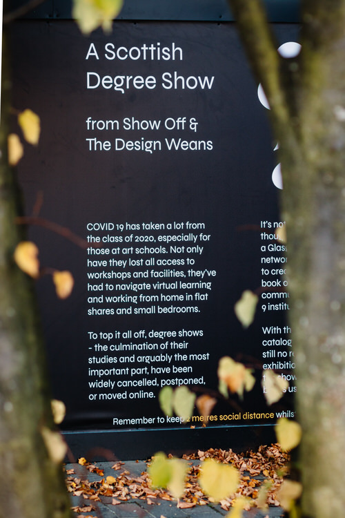 Fragment of the poster introducing SHOW UP to the public